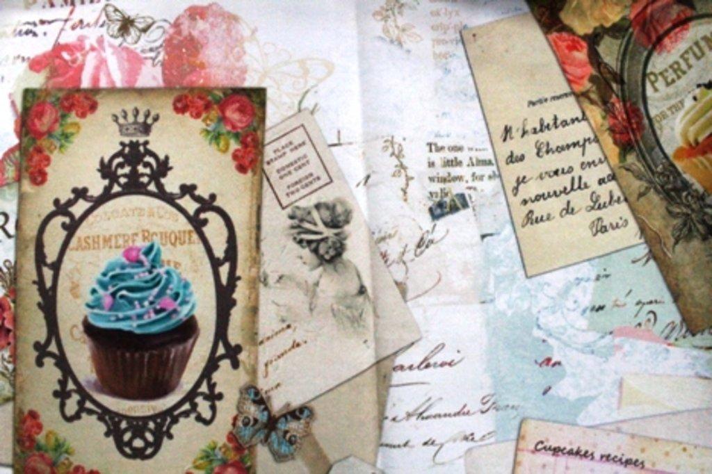 Ткани: Tahiti vintage cake в Салон штор, Виссон