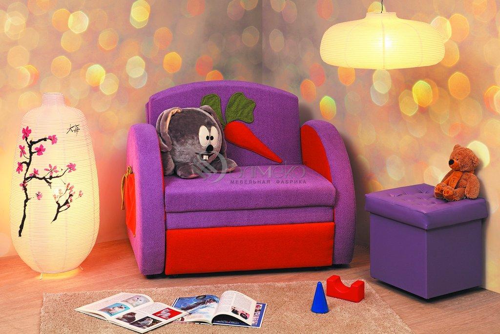 Детские диваны и мягкие кресла: Тахта Мася - 8 (кролик) в Стильная мебель