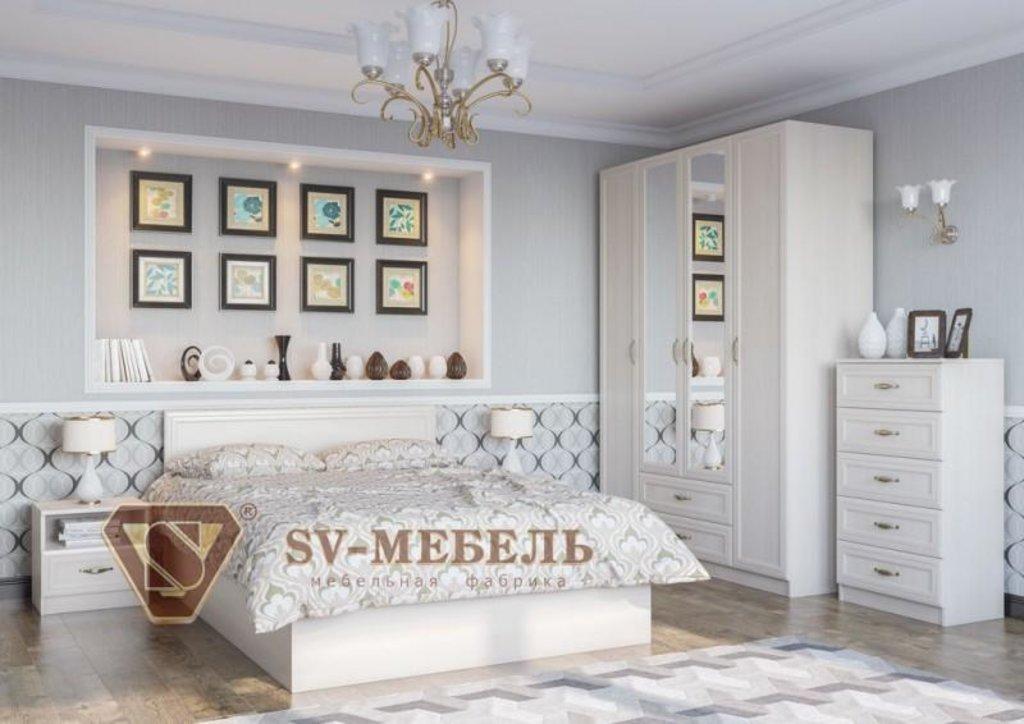 Мебель для спальни Вега: Кровать (Без матраца 1,2*2,0) ВМ-14 Вега в Диван Плюс