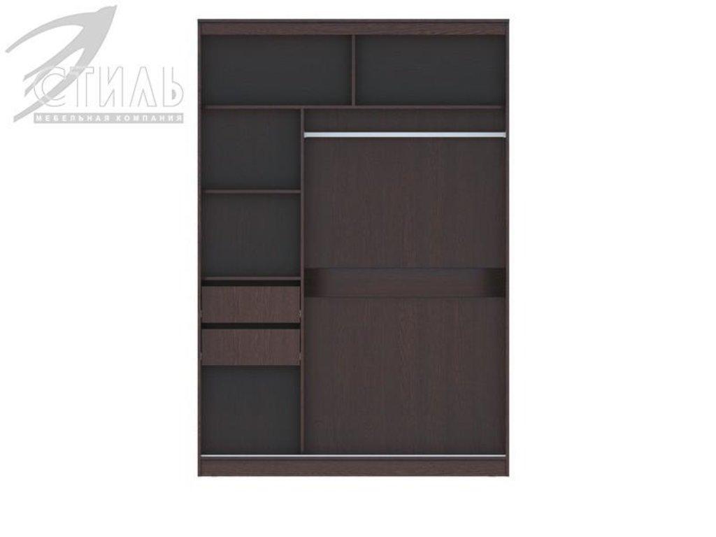 Шкафы: Шкаф-купе Комфорт-13 (Венге) в Диван Плюс