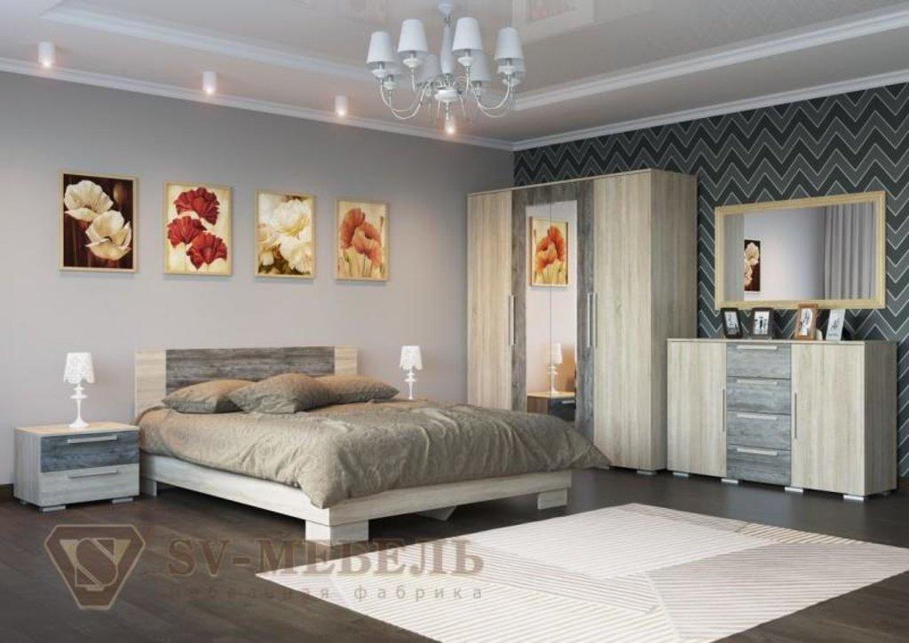 Мебель для спальни Лагуна-2: Шкаф трехстворчатый Лагуна-2 в Диван Плюс