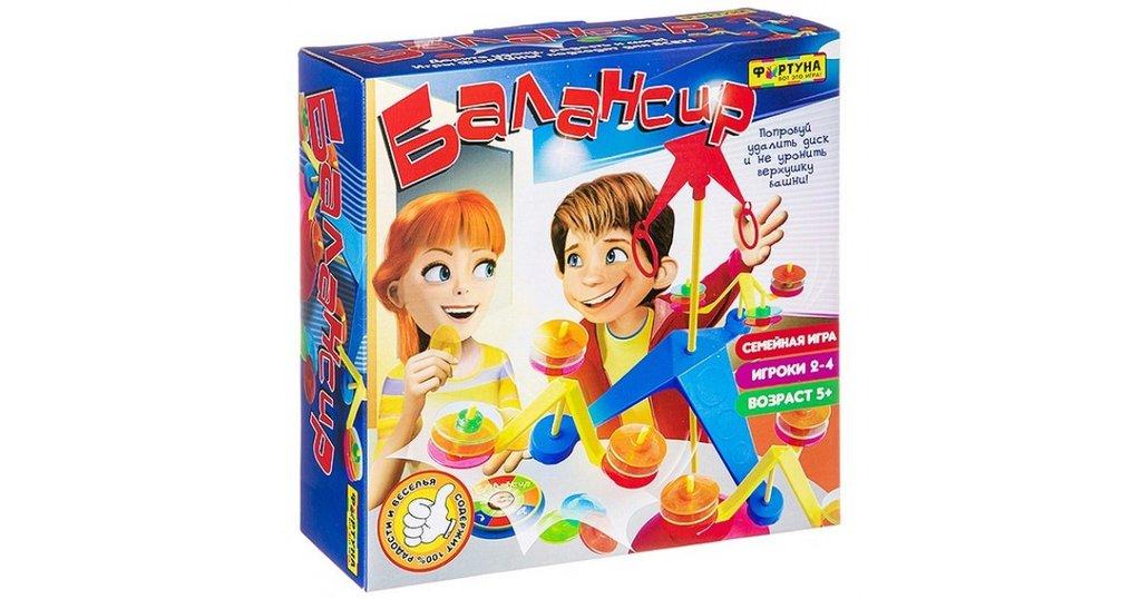 Настольные и спортивные игры: Настольная семейная игра Балансир Фортуна в Игрушки Сити