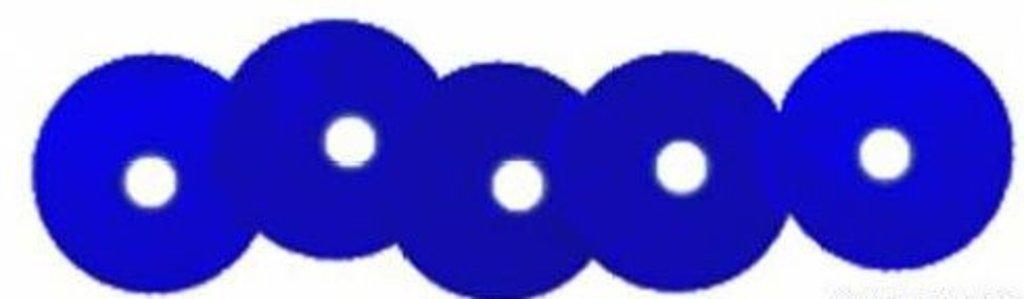 Плоские 6мм.: Пайетки плоские 6мм.упак/10гр.Астра(цвет:5 т.синий) в Редиант-НК