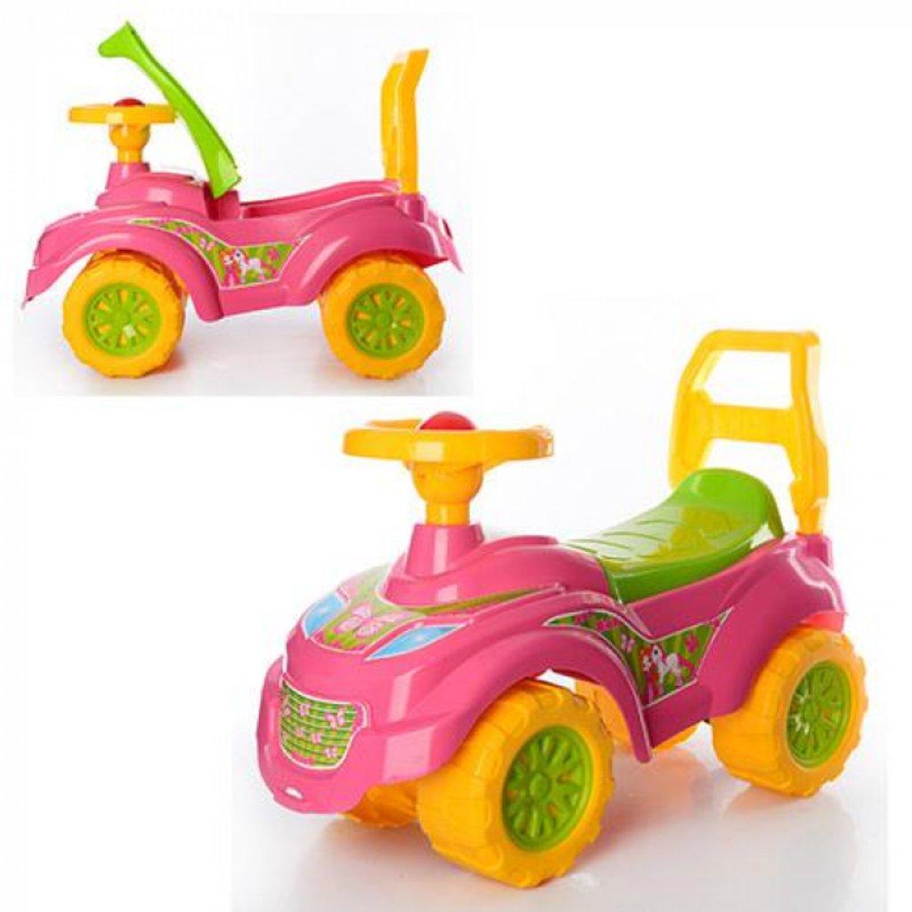 Транспорт для малышей: Каталка Машина для прогулок Принцесса ТехноК  0793 в Игрушки Сити