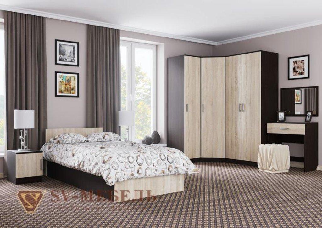 Мебель для спальни Эдем-5: Шкаф двухстворчатый (накладн.) Эдем-5 в Диван Плюс