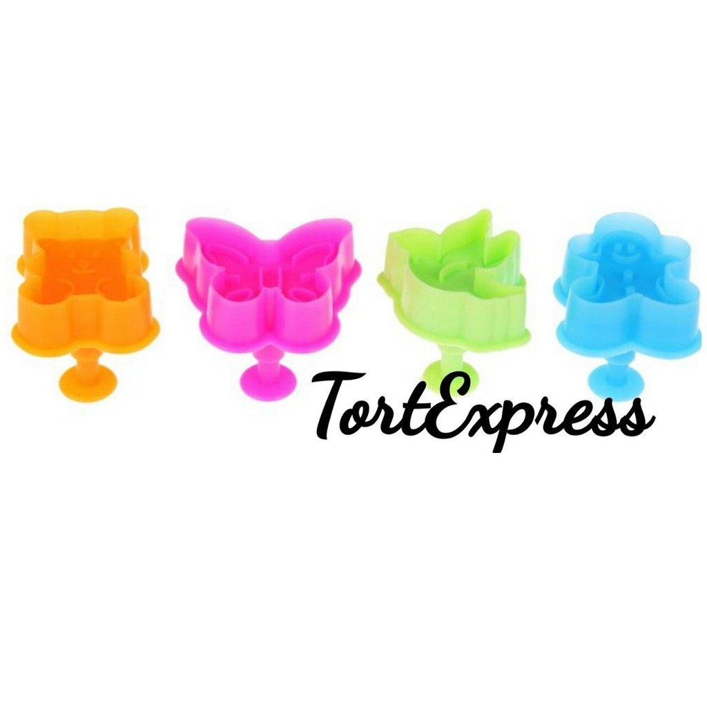 Кондитерский инвентарь: Набор плунжеров Фигурки в ТортExpress