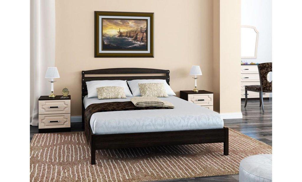 Кровати: Кровать Камелия-1 (массив) в Уютный дом