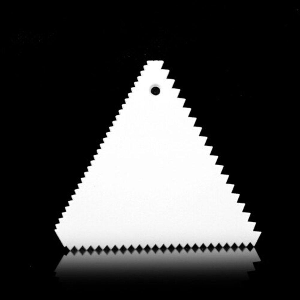Кондитерский инвентарь: Шпатель кондитерский Зубчики в ТортExpress