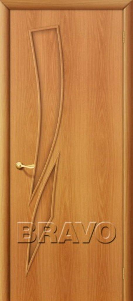 Двери ламинированные BRAVO: 8Г Л-12 (МиланОрех) в STEKLOMASTER