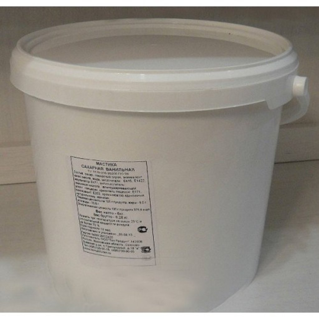 Ингредиенты: Мастика сахарная в ТортExpress