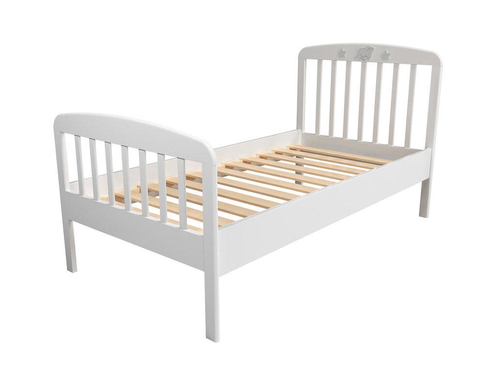 Детские и подростковые кровати: Кровать НМ 041.06 Лилу (800x1600, орт. осн. дерево) в Стильная мебель