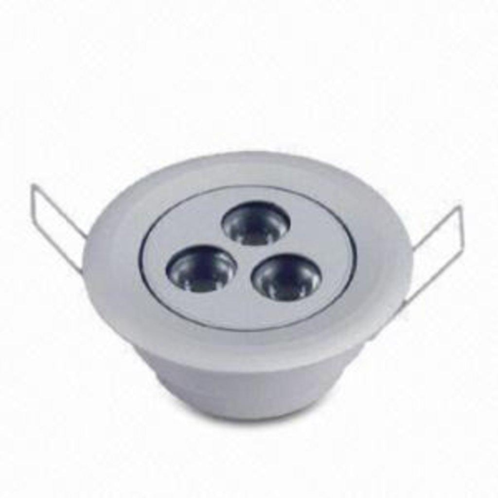 Встраиваемые светодиодные светильники: Светильник светодиодный MS-DL010003-PW в СВЕТОВОД