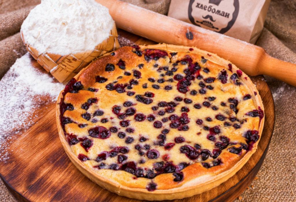Сладкие пироги: Киш с ежевикой в Хлебоман