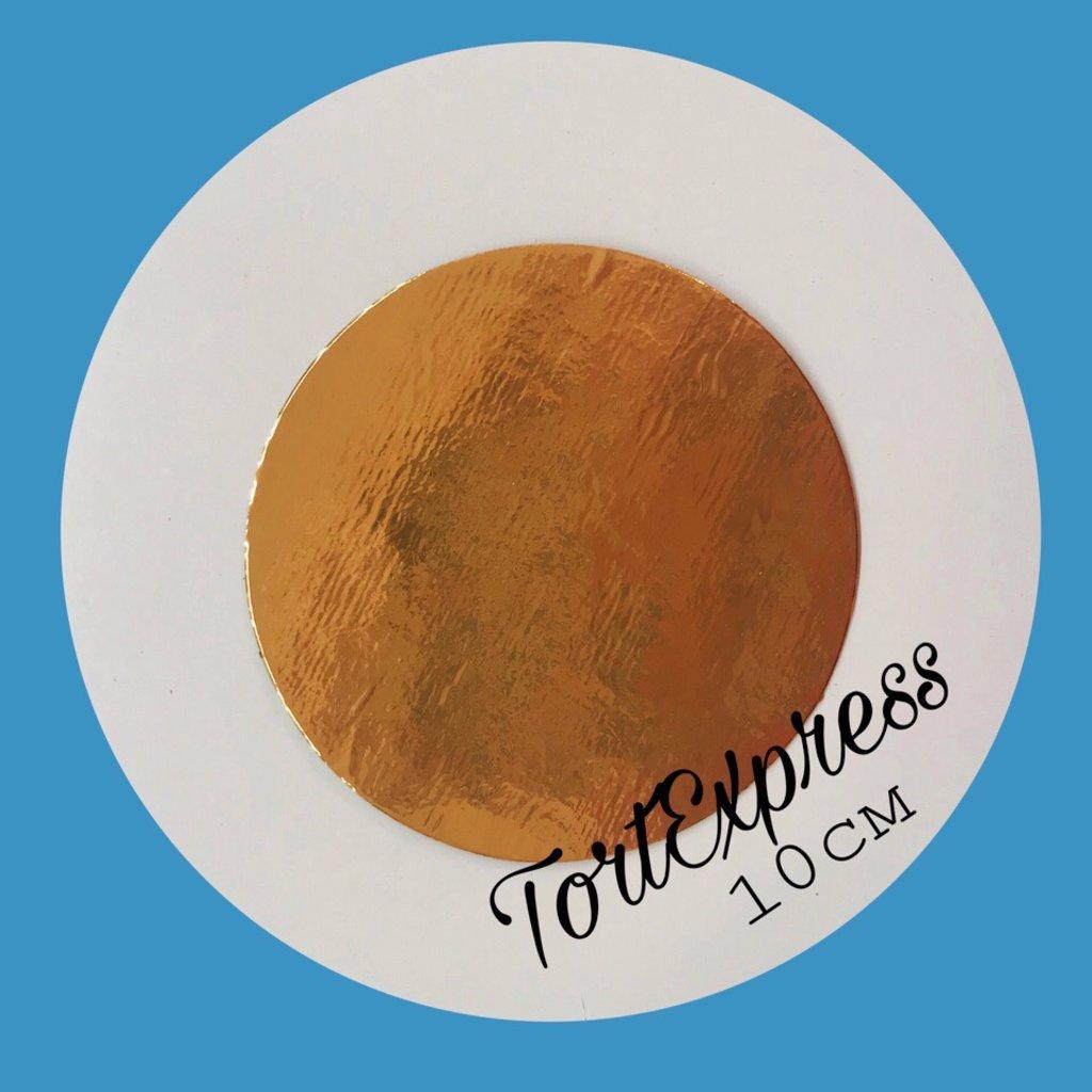 Упаковка: Подложка d10 золото 0,8мм в ТортExpress