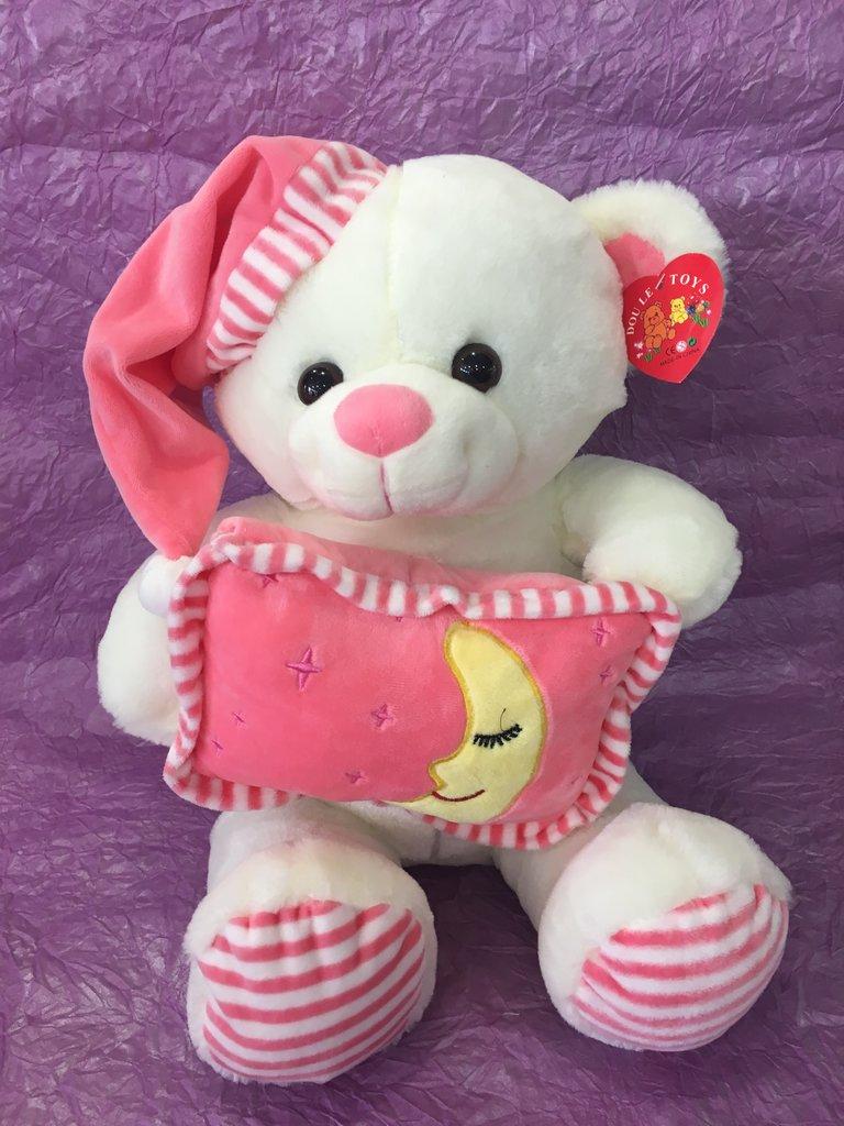Сувениры, подарки: Медведь розовый в Николь, магазины цветов
