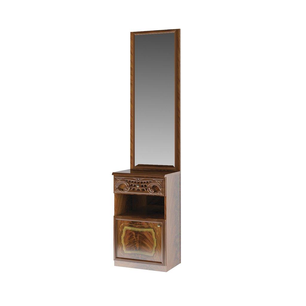 Этажерки и тумбы: Тумба с зеркалом Роза в Стильная мебель