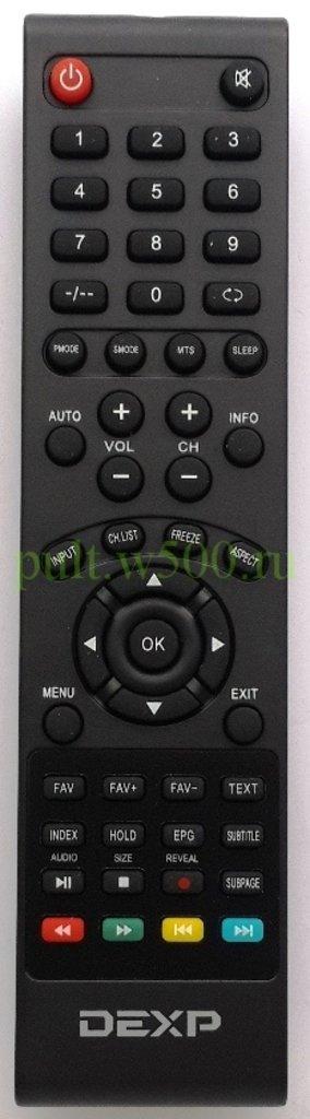 DEXP: Пульт DEXP F32C7100B / W, F32B7000B (LCD) оригинал в A-Центр Пульты ДУ