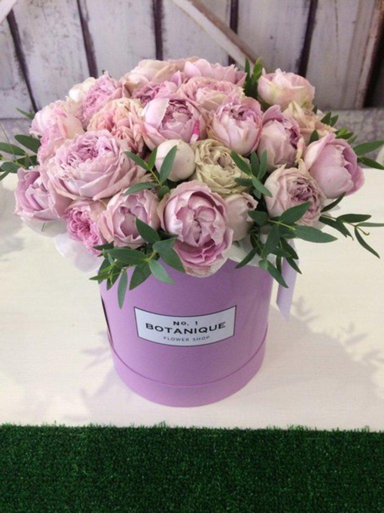 """Premier mini: """"Premier mini"""" Пионовидная роза+зелень! в Botanique №1,ЭКСКЛЮЗИВНЫЕ БУКЕТЫ"""