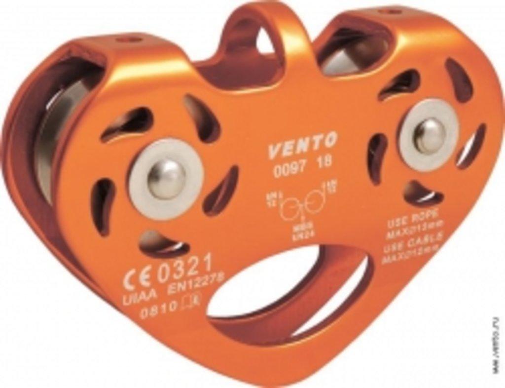 Блок-ролики Vento: Блок-ролик Tandem, дюраль с/п (CE, UIAA) в Турин