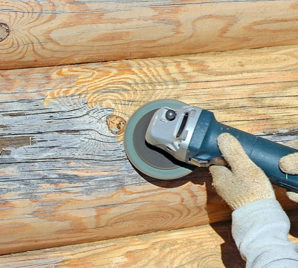 Обработка дерева: Шлифовка бруса в А-Строй