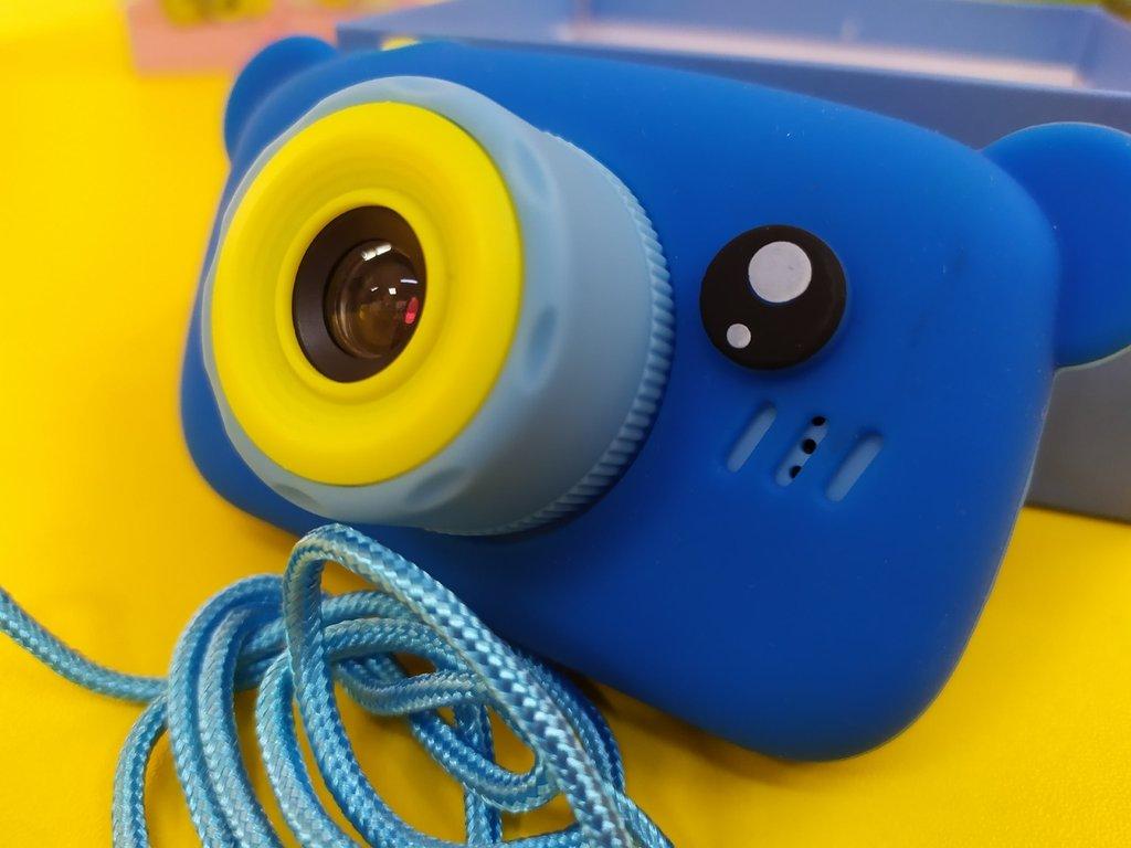 Новинки и хиты продаж: ДЕТСКАЯ КАМЕРА- фотоаппарат с настоящими функциями.Чехол с ушками в подарок!!!! в Игрушки Сити