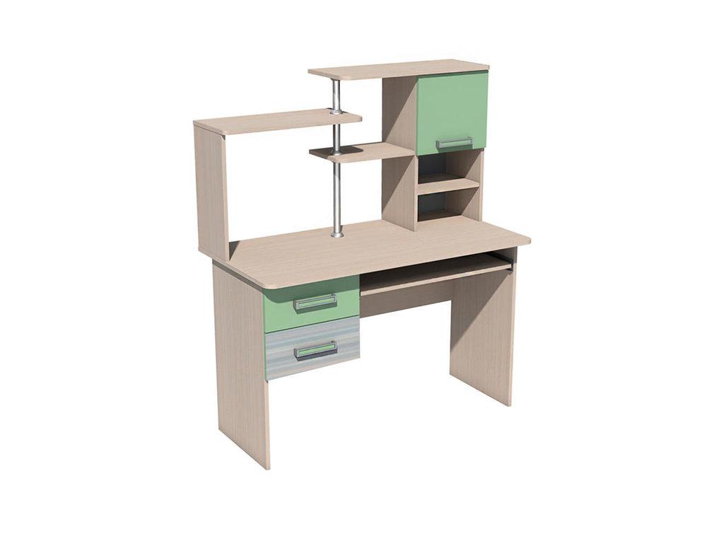 Компьютерные столы: Стол для компьютера НМ 011.77 М Рико-М в Стильная мебель