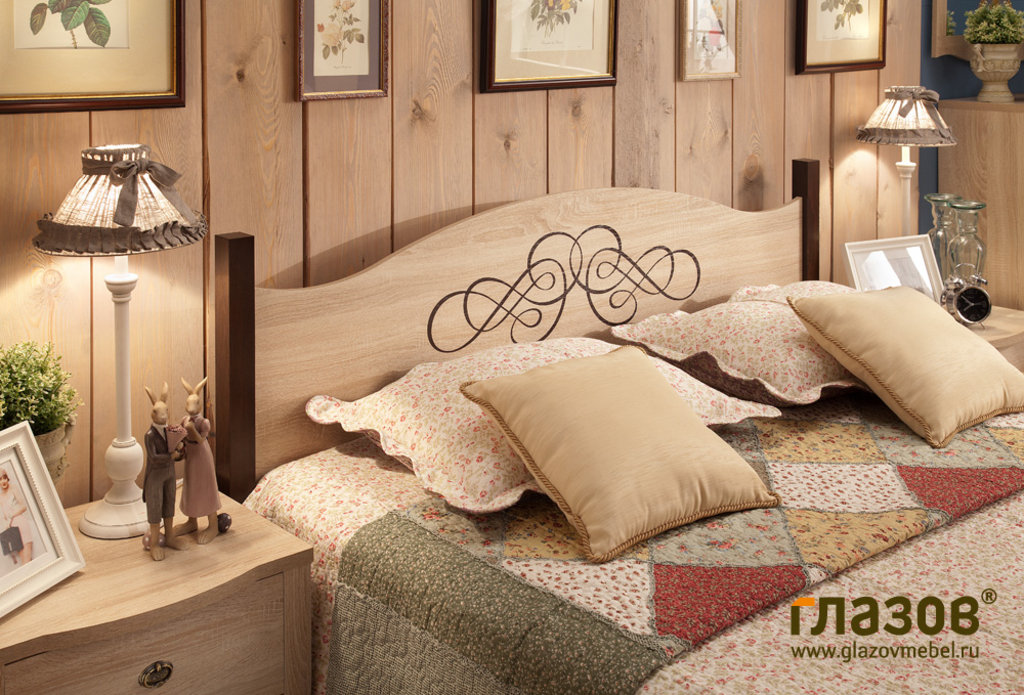 Кровати: Кровать ADELE 4 (1200, орт. осн. металл) в Стильная мебель