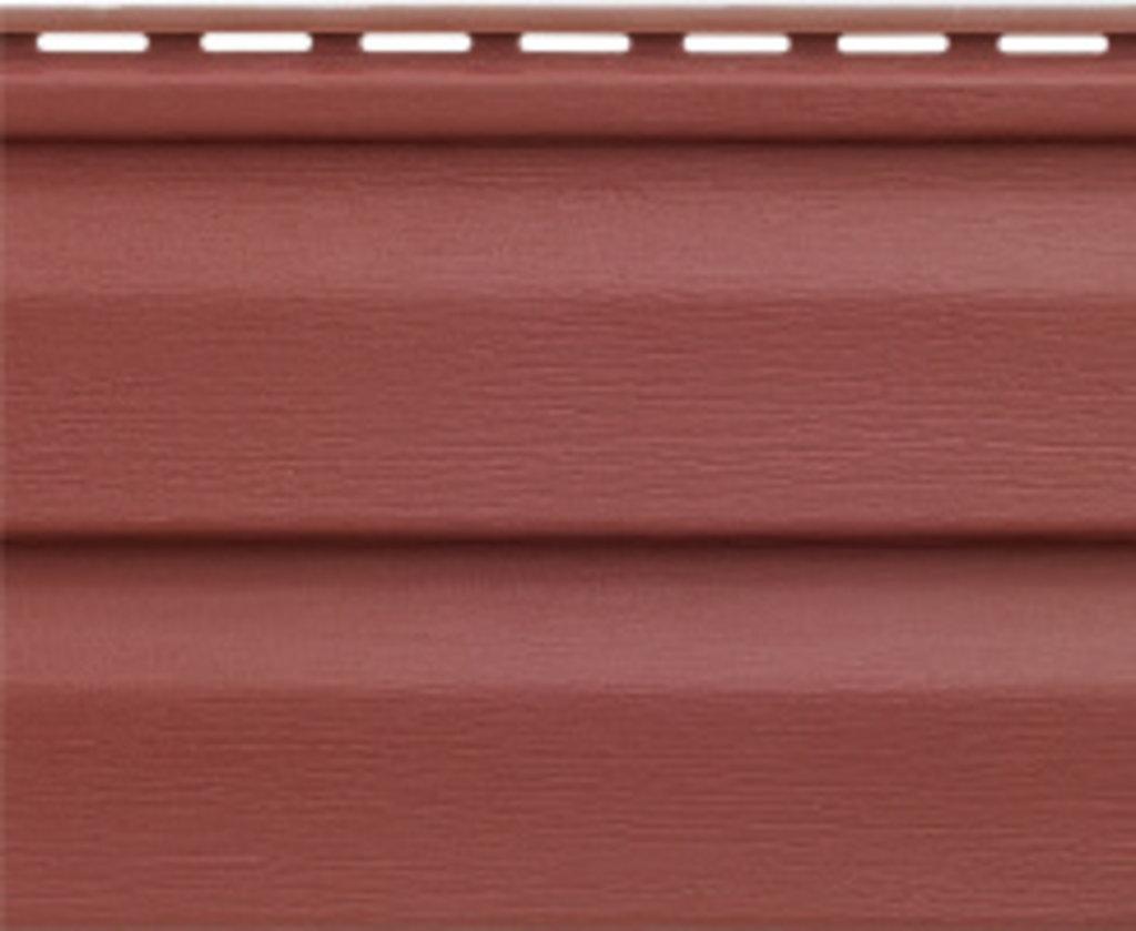 Акриловый сайдинг: Панель акриловая Аляска Люкс Рэд - 3,00 х 0,205 м. в АНЧАР,  строительные материалы