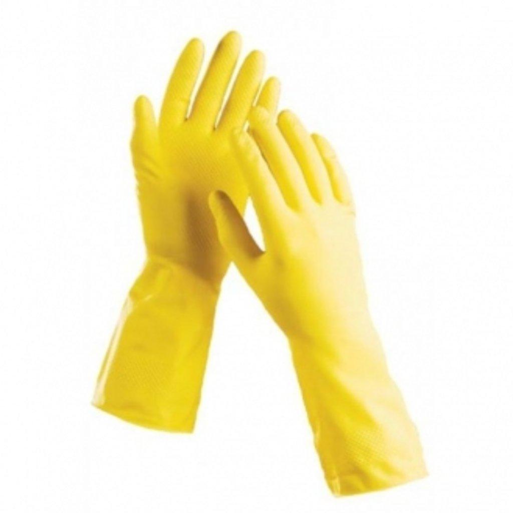 """Туалетная бумага, салфетки и др.: Перчатки хоз.латекс""""House Hold Gloves"""", взаимозаменяемые в Чистая Сибирь"""