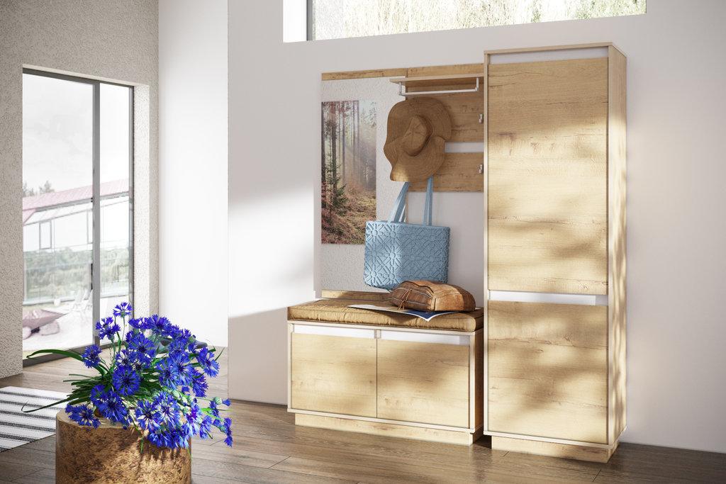 Мебель для прихожих, общее: Зеркало VIRGINIA НМ 011.90 Дуб Бунратти в Стильная мебель
