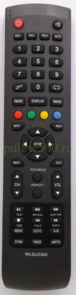 AKAI: Пульт AKAI WL52JC002 корп.Y-72 (LCD LTA-15A15M ) HUAYU в A-Центр Пульты ДУ