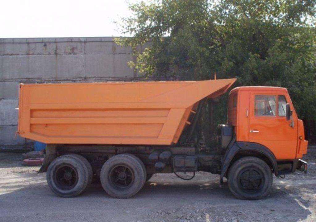 Самосвал на базе КАМАЗ в ПромЭнергоКомплекс