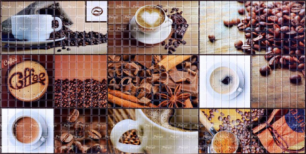 Панели ПВХ: Мозаика Кофейня в Мир Потолков