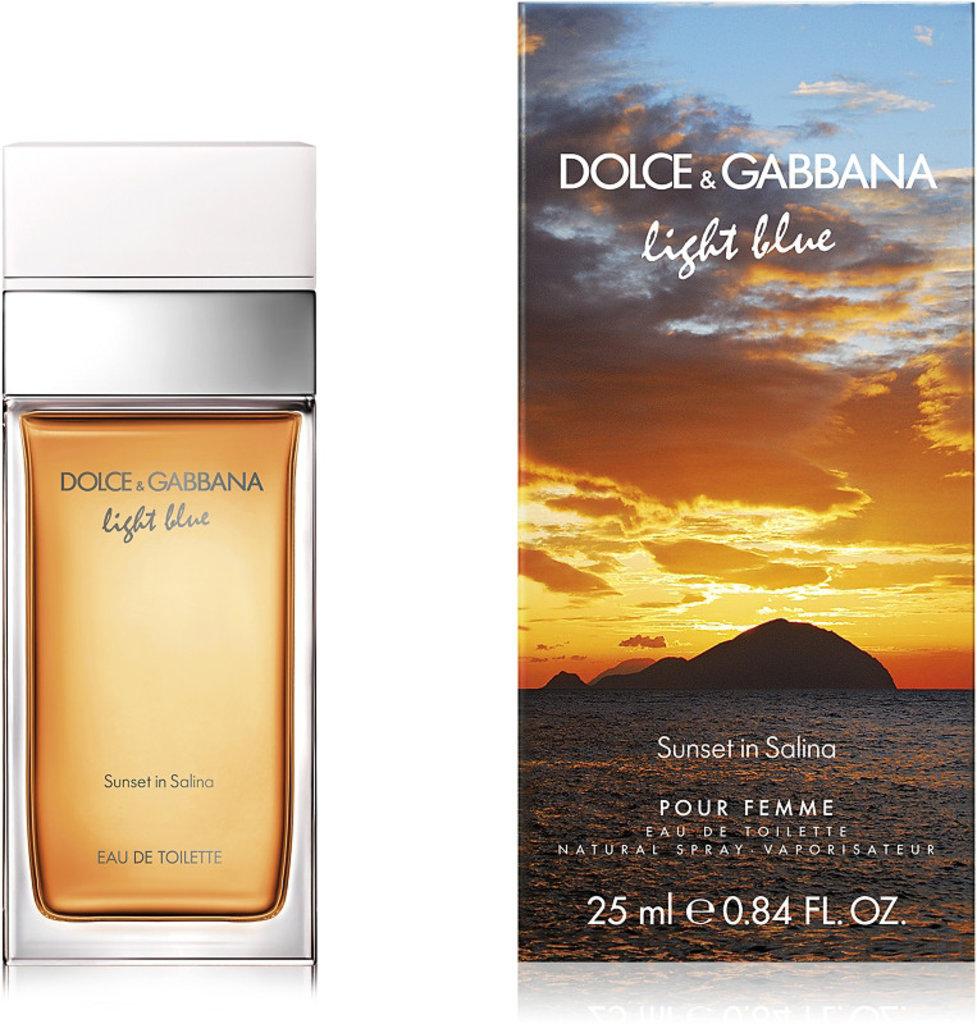 Dolce&Gabbana: D&G Light Blue Salina Туалетная вода 25мл жен в Элит-парфюм