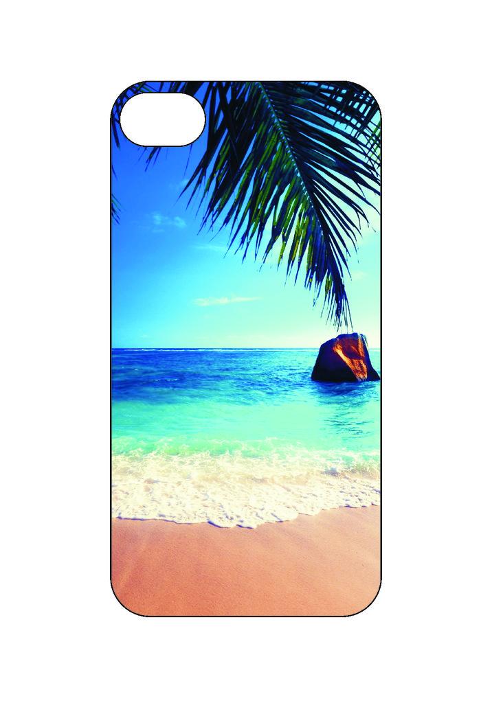 Выбери готовый дизайн для своей модели телефона: Пляж в NeoPlastic