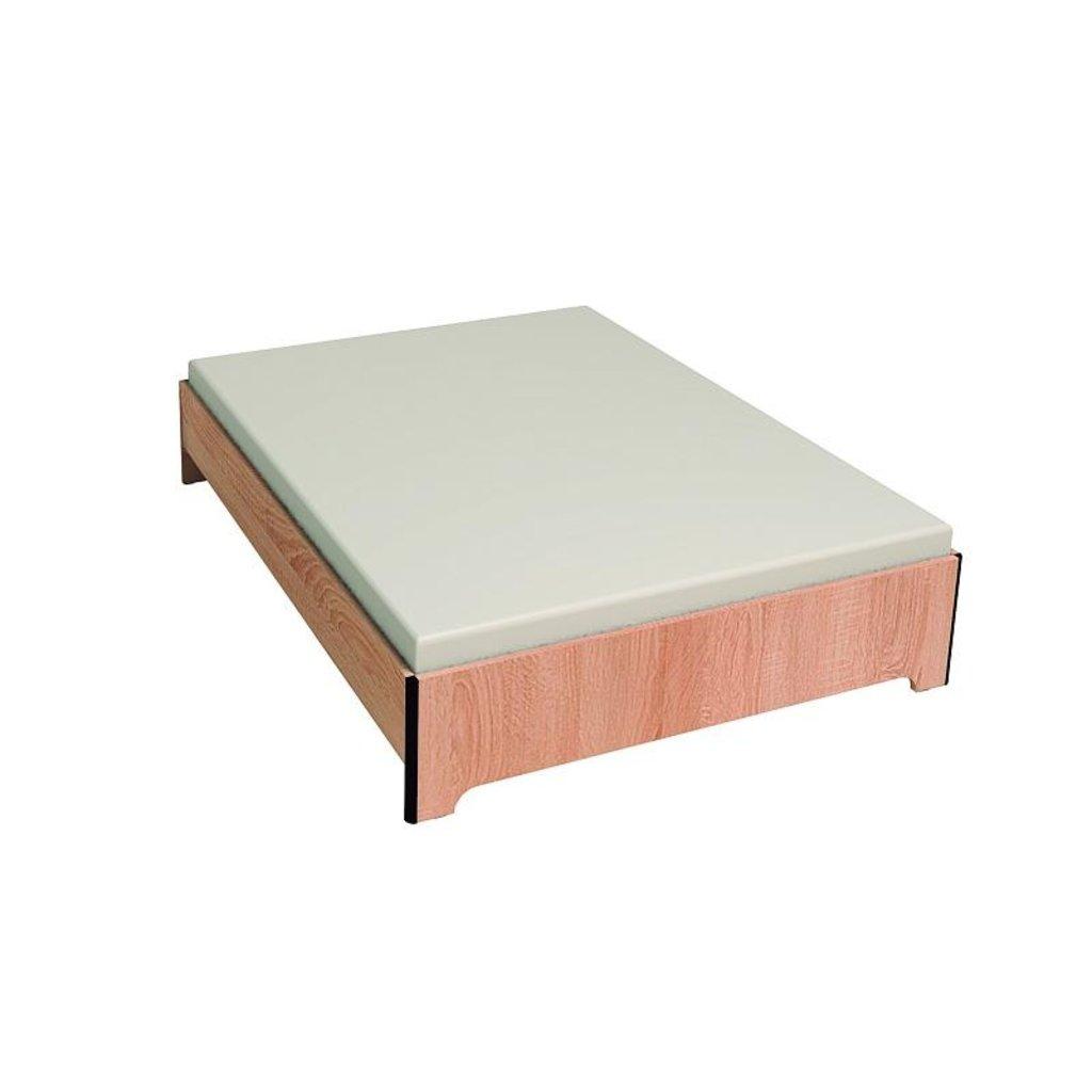 Кровати: Кровать Эко 2 (1600, орт. осн. металл) в Стильная мебель