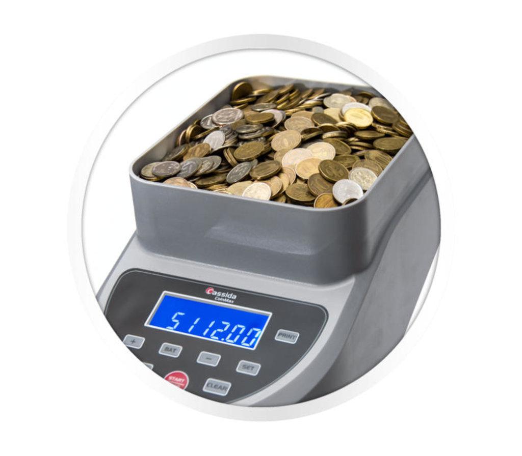 Сортировщики и счетчики монет: Cassida CoinMax Сортировщик монет в Рост-Касс