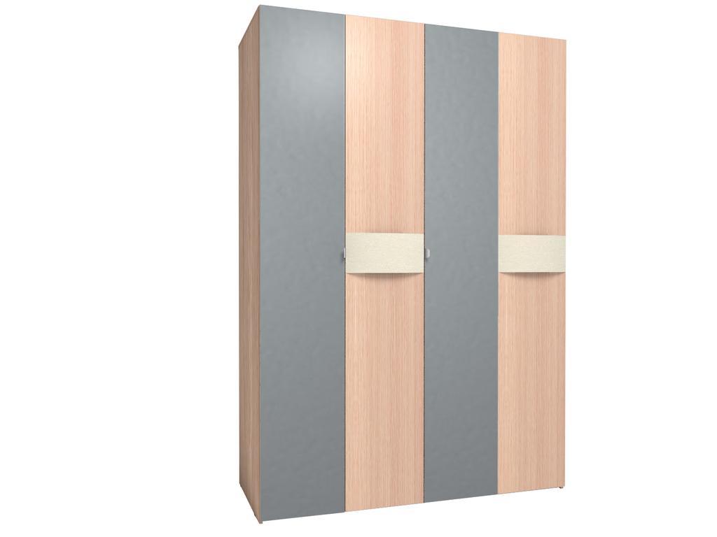 Шкафы для одежды и белья: Шкаф для одежды и белья АМЕЛИ 555 в Стильная мебель
