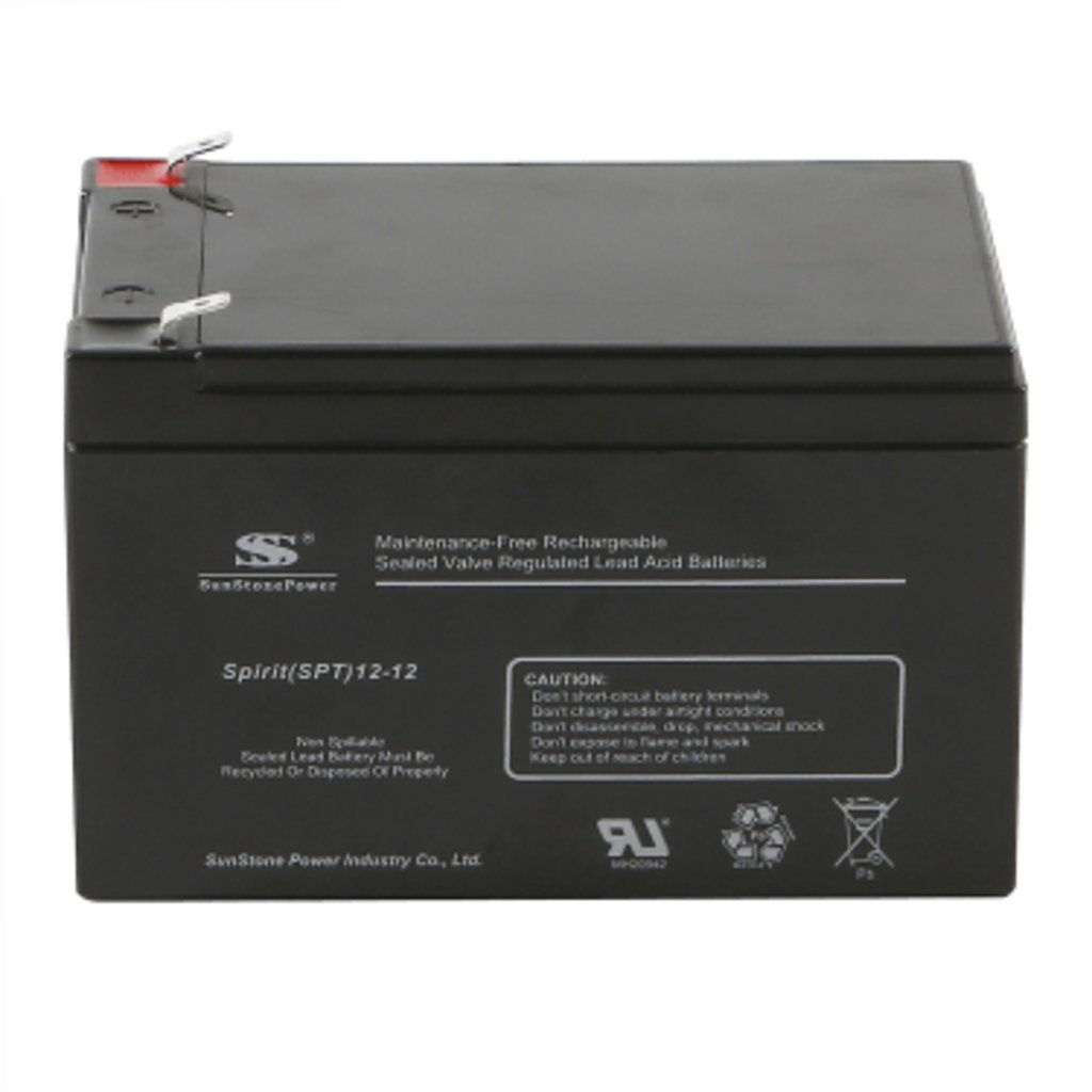 Для ИБП: Аккумулятор SunStonePower SPT12-12 в Горизонт