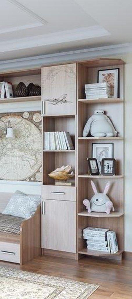 Мебель для детской Город: Створка для Пенала Город с рисунком Самолет в Диван Плюс