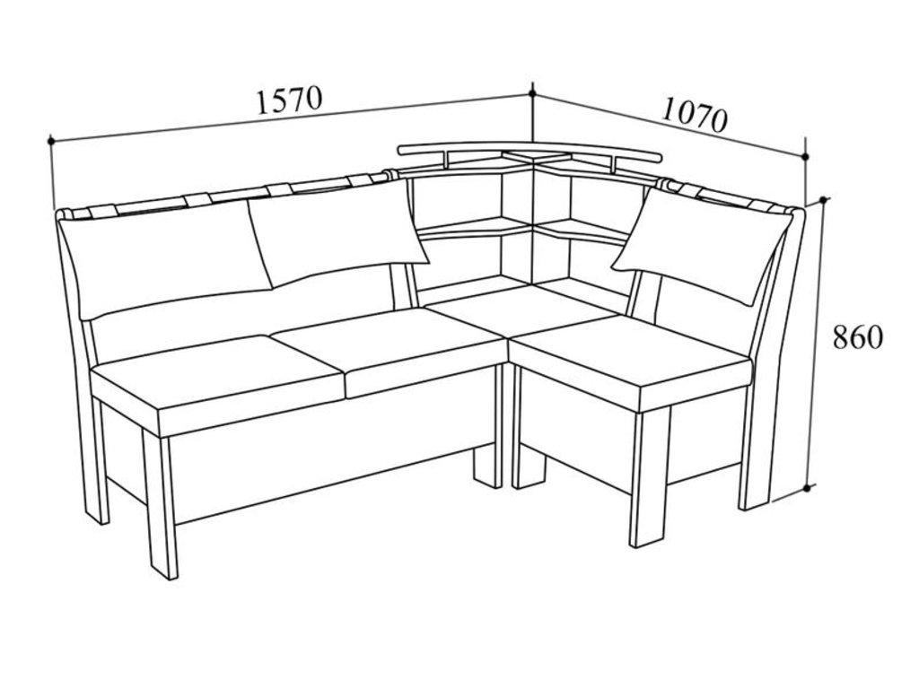 Модульная система Гранд: Кухонный уголок МС Гранд в Уютный дом