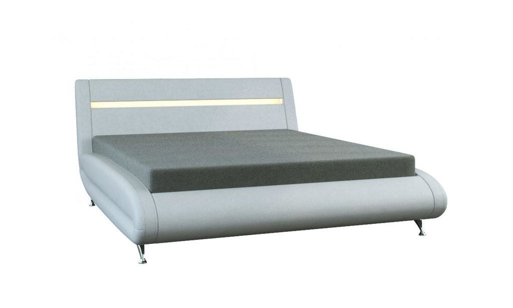Кровати: Кровать двойная из экокожи Тиффани в Уютный дом