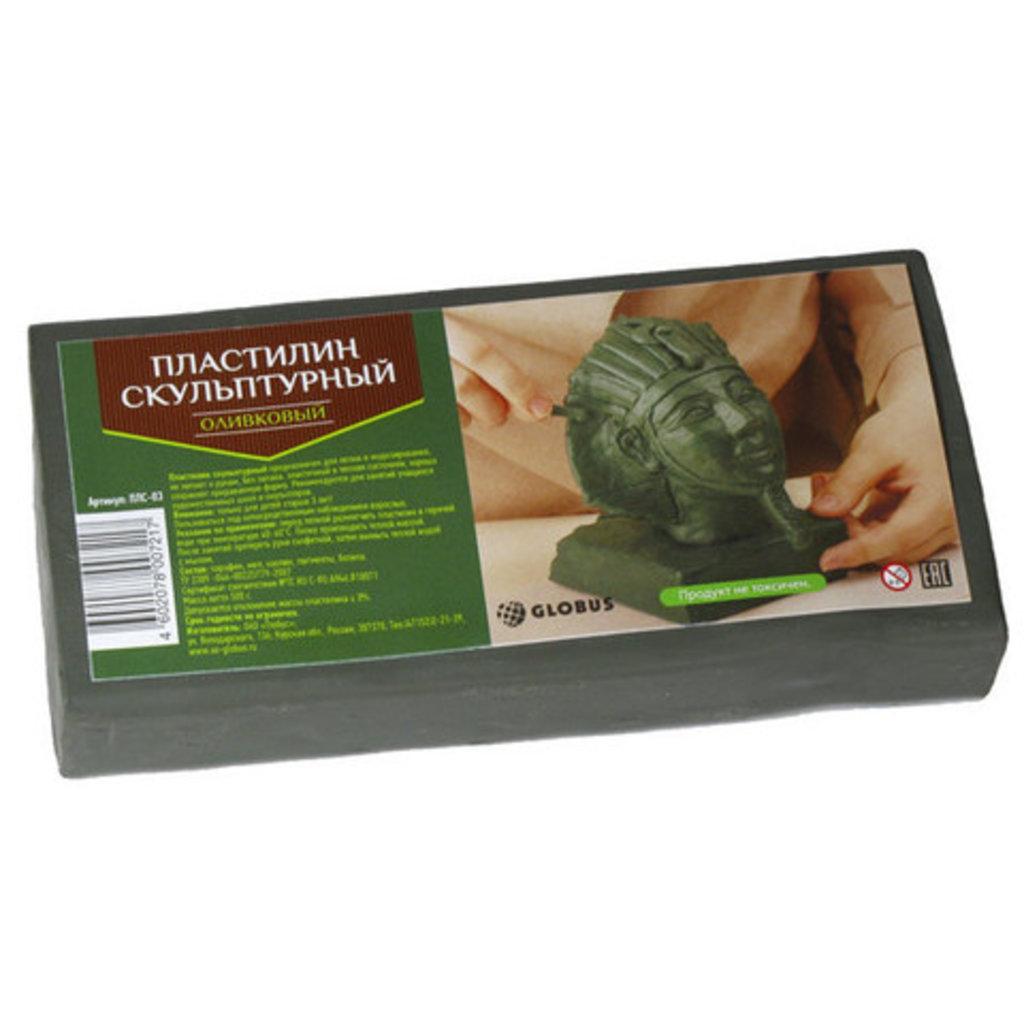 Скульптурный пластилин: Пластилин скульптурный оливковый 500гр в Шедевр, художественный салон