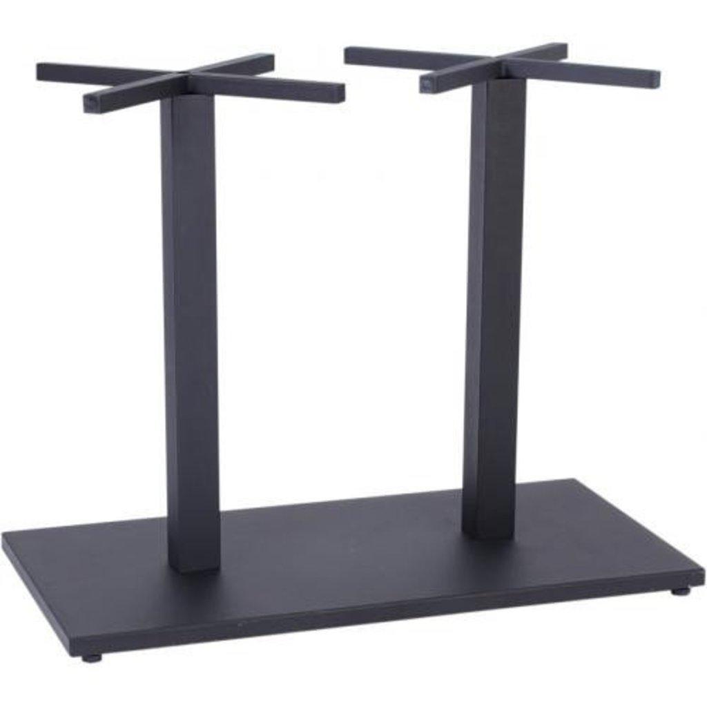Столы для ресторана, бара, кафе, столовых.: Стол прямоугольник 120х80, подстолья 01 R-80 чёрная в АРТ-МЕБЕЛЬ НН
