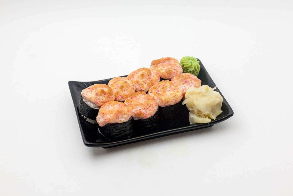Запеченные роллы: Запечённый лосось в Tokio