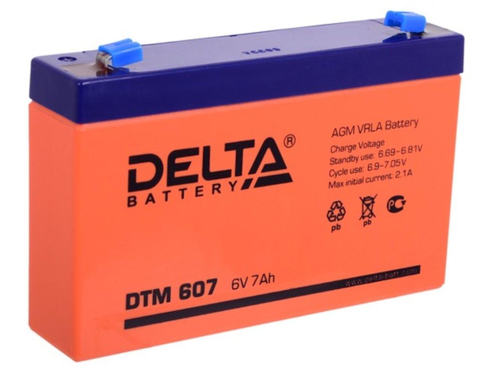 Delta: DELTA DTM 607 в БазаАКБ