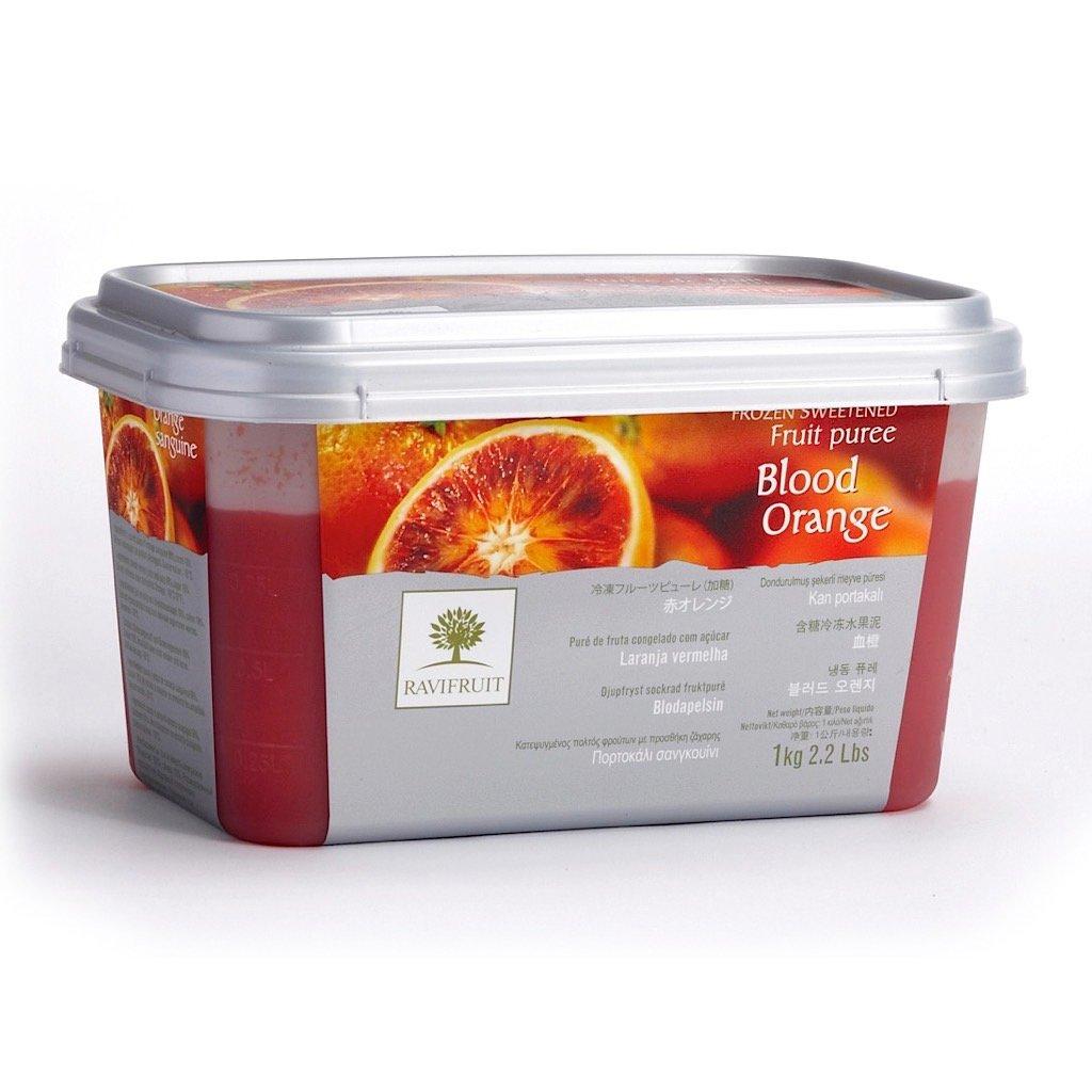 Фруктовое пюре: Пюре из Красного апельсина Ravifruit 1кг в ТортExpress