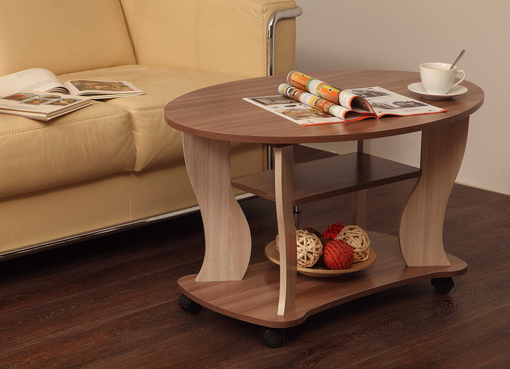Журнальные и кофейные столики: Журнальный столик Сатурн - М05 в Стильная мебель