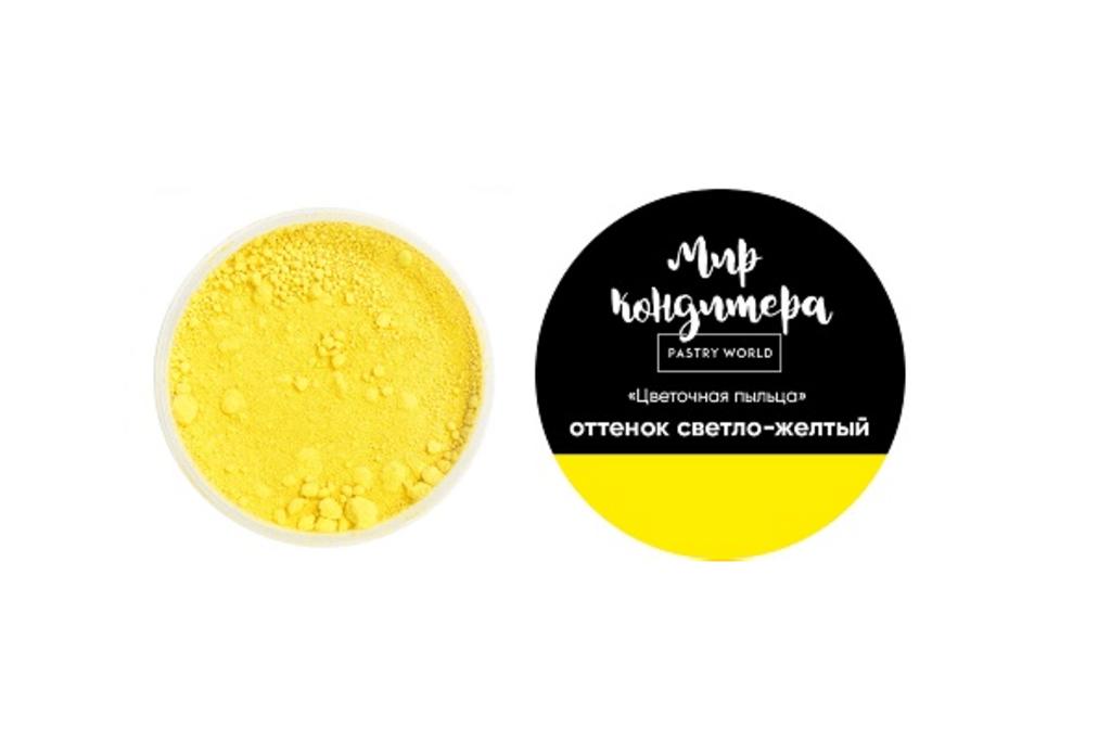 Ингредиенты: Цветочная пыльца, оттенок светло-жёлтый в ТортExpress