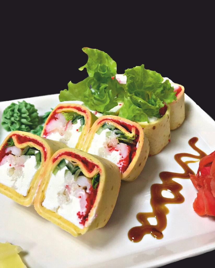 Роллы: Тортилья с морепродуктами в Restorant SH